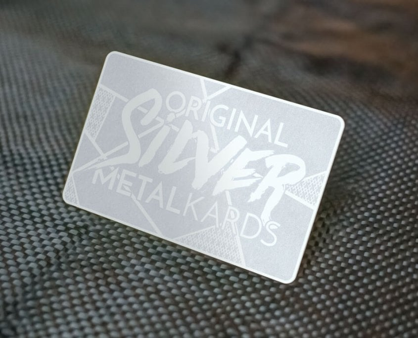 Stainless Steel Business Cards - MetalKards.com