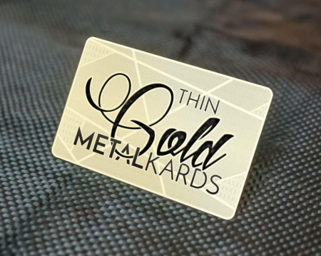 Metal business cards metalkards thin gold metal cards colourmoves