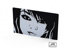 Black and White Metal Cards