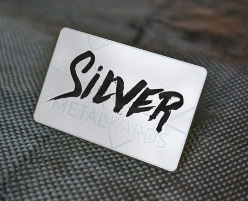 Stainless Metal Cards