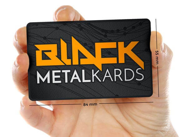 Black Metal Cards