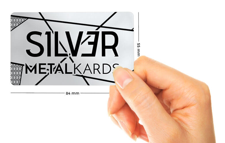 holding stainless steel cards